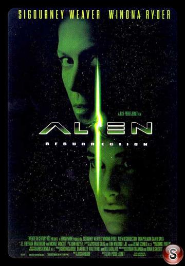 Alien La clonazione - Alien resurrection - Locandina - Poster