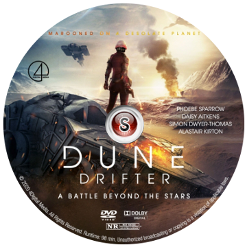 Dune Drifter Cover DVD