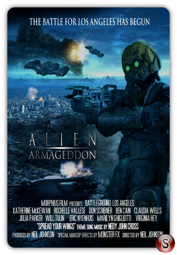 Alien Armageddon - Locandina - Poster