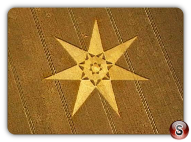 Crop circles - West Overton Wiltshire 2000