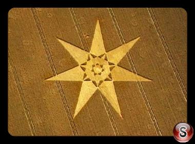 Crop circles - West Overton Wiltshire 2000