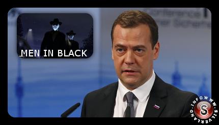 Dmitrij Medvedev e Alieni - Ufo