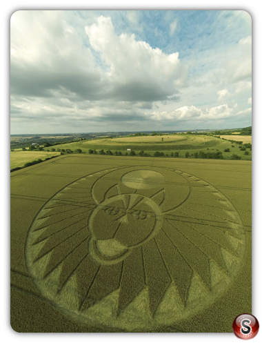 Crop circles Figsbury Rings - Wiltshire 2016