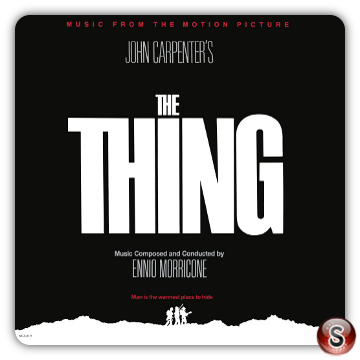 The thing Soundtracks Cover CD