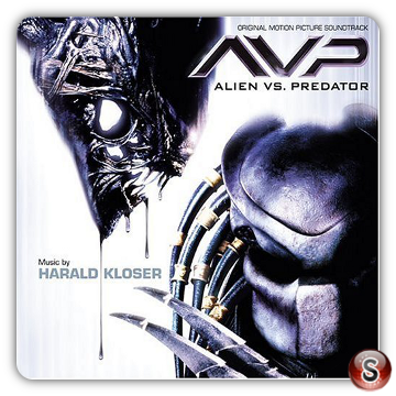Alien Vs Predator  Soundtracks Cover CD