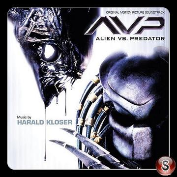 Alien Vs Predator  Soundtrack Cover CD