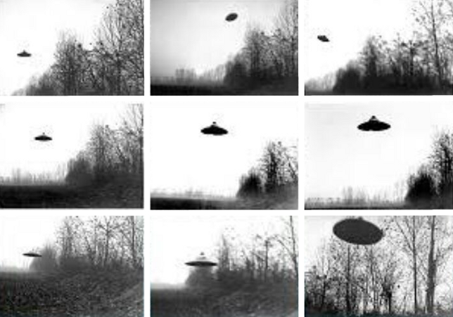 Presunte foto di velivoli extraterrestri