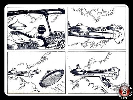 Carlos Antonio de los Santos e la disposizione dei 3 Ufo