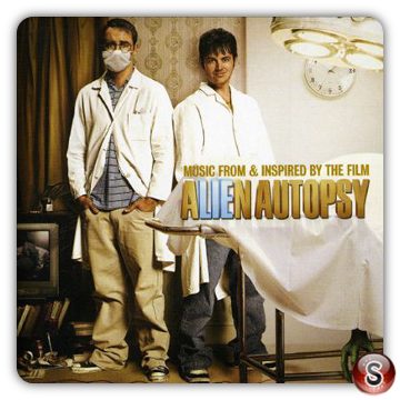 Alien autopsy Soundtrack Cover CD