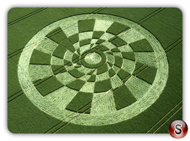 Crop circles - Tan Hill, Wiltshire 2003