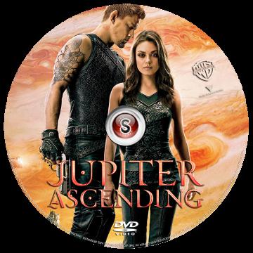 Jupiter ascending Cover DVD