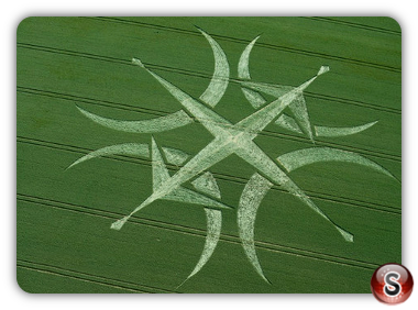 Crop circles Stonehenge, Wiltshire UK 2015