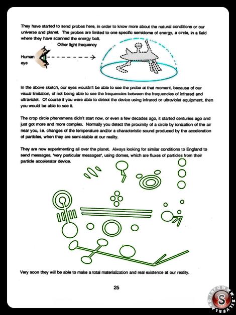 Crop circles phenomena - Blue Planet Project - Rielaborazione grafica Silverland