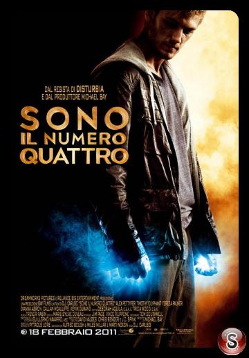 Sono il numero 4 - I Am Number Four - Locandina - Poster