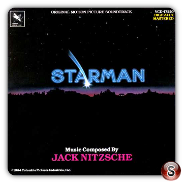 Starman Soundtrack Cover CD