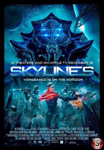 Skylines - Locandina - Poster