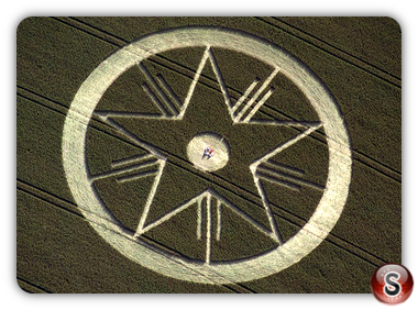 Crop circles - Bishops Cannings Wiltshire 1997