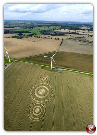 Crop circles - Watchfield, Oxon 2008