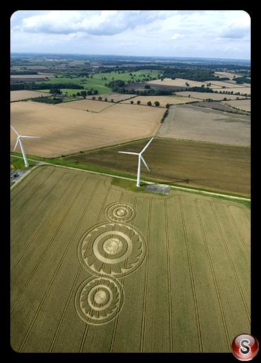 Crop circles - Watchfield Oxon 2008