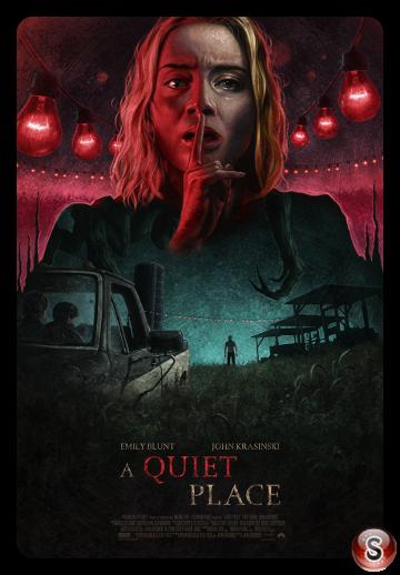 A quiet place - Locandina - Poster