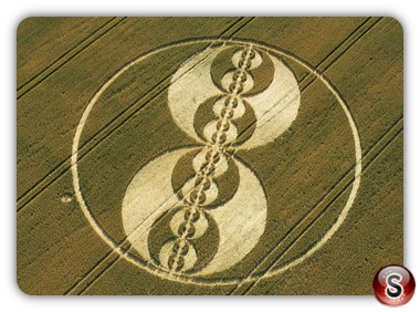 Crop circles - Cliffords Hill, Wiltshire 2001