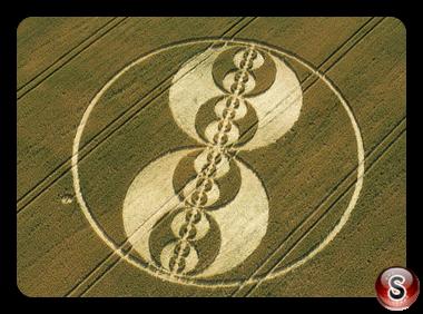 Crop circles - Cliffords Hill Wiltshire 2001