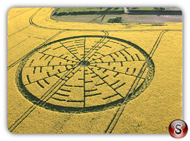 Crop circles - Wilton Windmill 2010