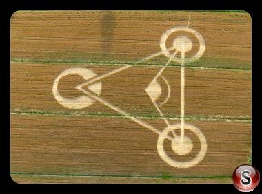 Crop circles - Castelfranco Nonantola Modena Italy 2009