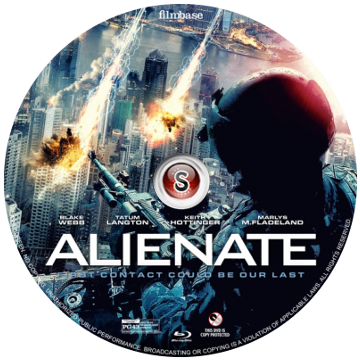 Alienate Cover DVD