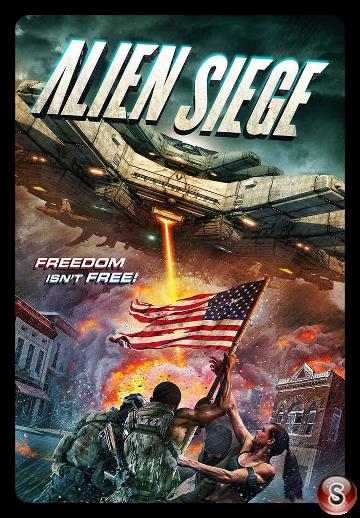 Alien Siege - Locandina - Poster