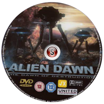 Alien dawn Cover DVD