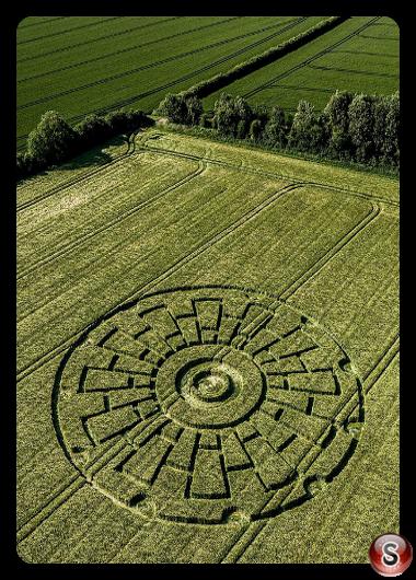 Crop circles - Sixpenny Handley Dorset 2020