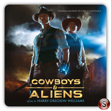 Cowboys & Aliens Soundtrack Cover CD