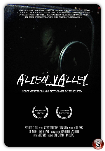 Alien Valley - Locandina - Poster