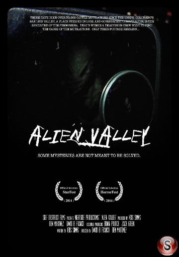 Alien Valley - Locandina - Poster