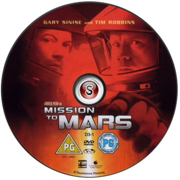 Mission to Mars Cover DVD