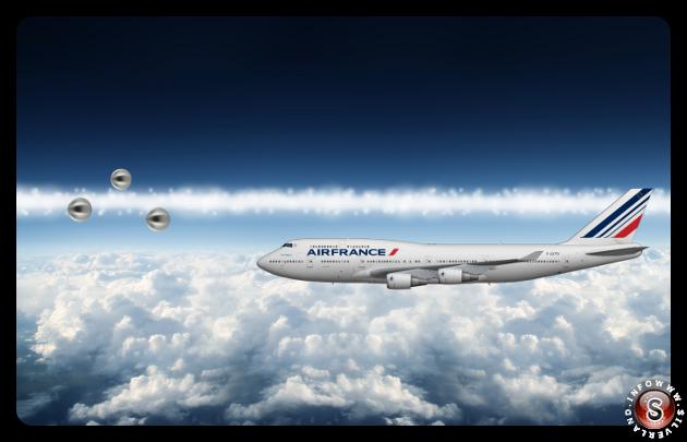 Ricostruzione dell'avvistamento in volo Silverland
