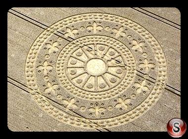 Crop circles - Wayaland's Smithy 2009