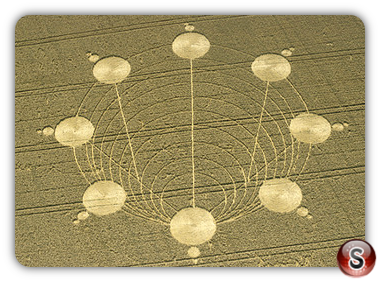 Crop circles - Huish, Wiltshire 2001