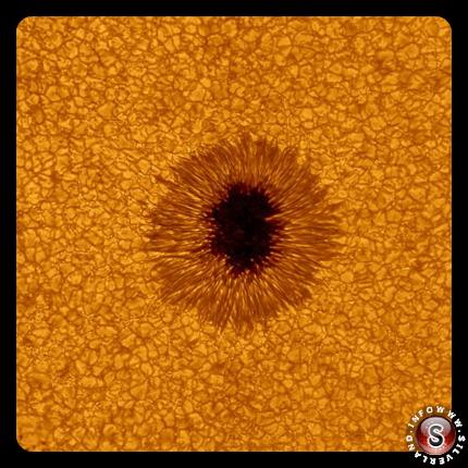 Macchia solare più dettagliata