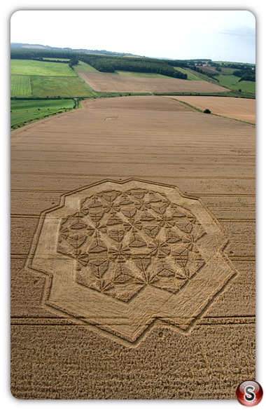 Crop circles - West Overton 2007