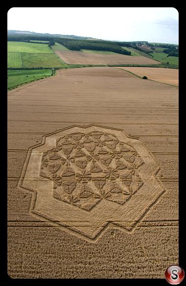 Crop circles - West Overton 2007