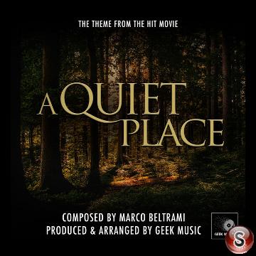 A quiet place  Soundtracks Cover CD