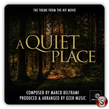 A quiet place  Soundtrack Cover CD