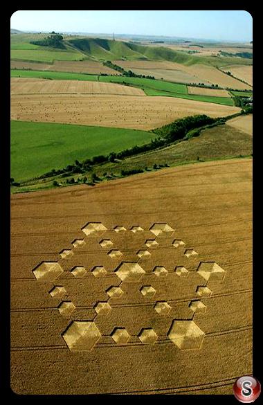 Crop circles - Cherhill Wiltshire 2005