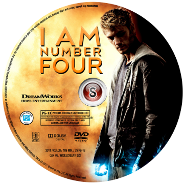 Sono il numero 4 - I Am Number Four Cover DVD