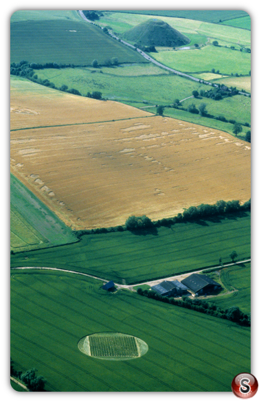 Crop circles - East Kennett, Wiltshire 2000