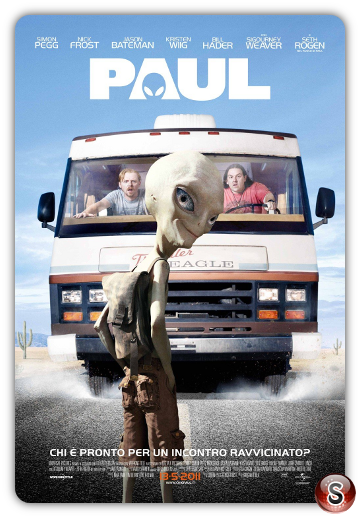 Paul - Locandina - Poster