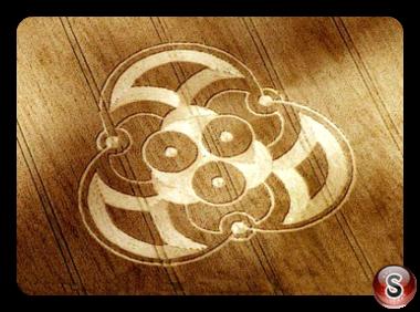 Crop circles - Boxley Maidstone 2005