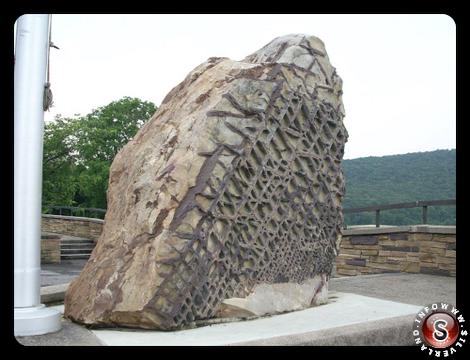 Waffle Rock Stone